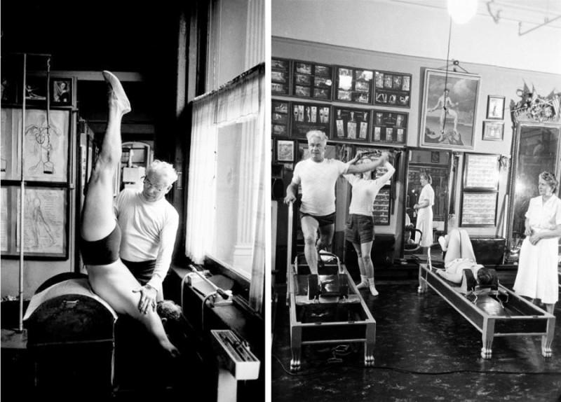 Au studio de J.H.Pilates