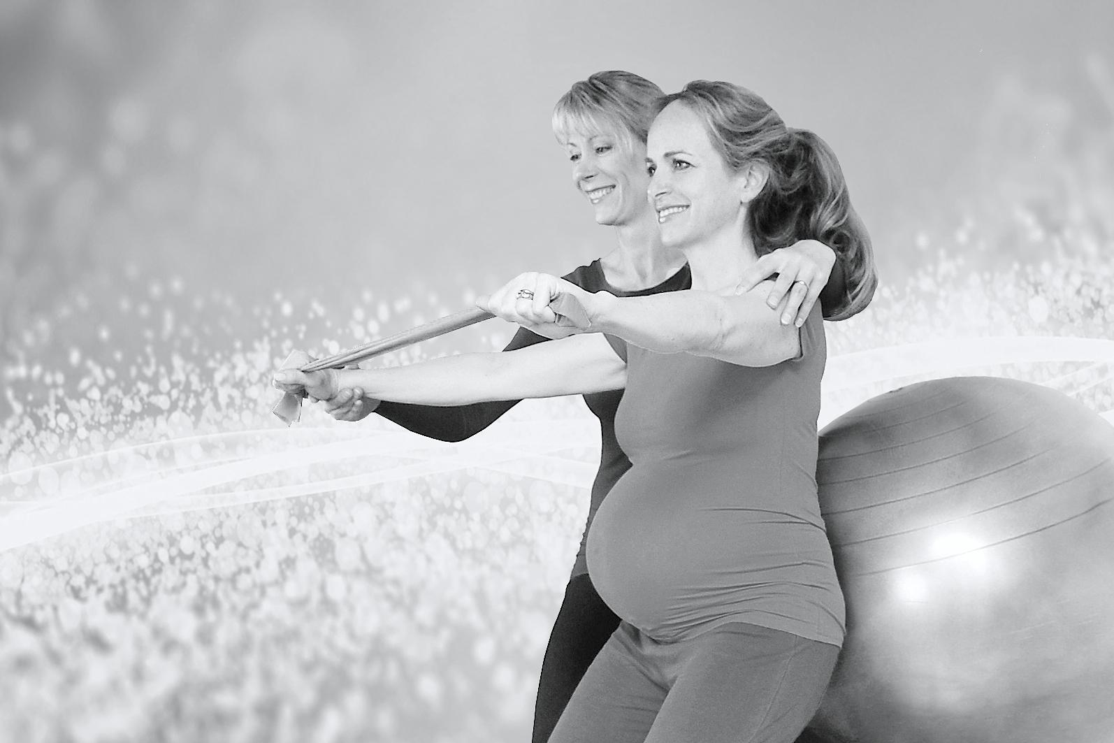 Swissball – Femme Enceinte